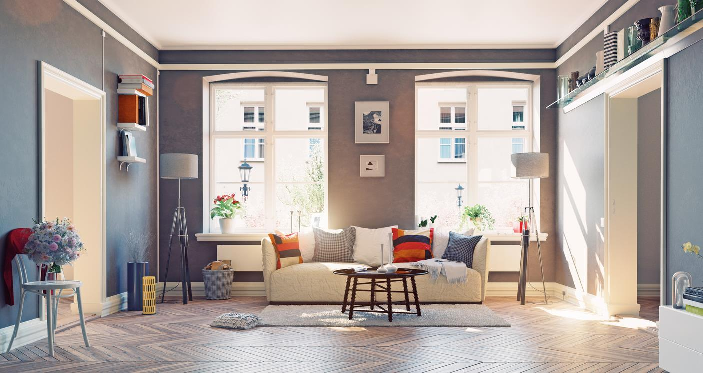 Five easy ways to make your rental feel like a home.